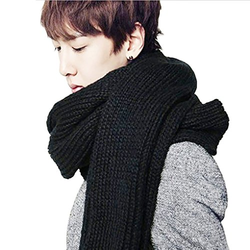 Ribbed Wool Scarf - 4