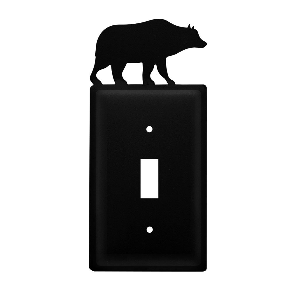 Iron Bear Switch Cover - Heavy Duty Metal Light Switch Cover, Electrical Outlet Covers, Lightswitch Covers, Wall Plate Cover