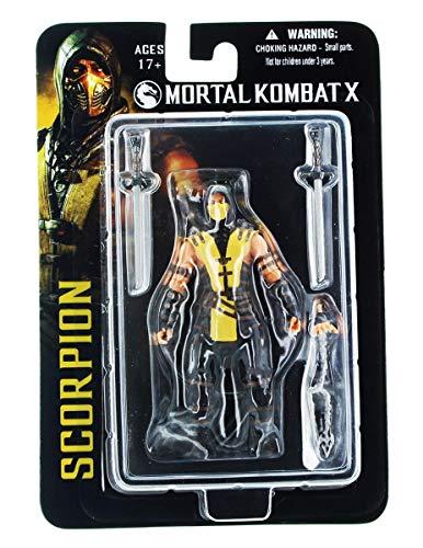 Mortal Kombat Mezco X Scorpion 4-Inch Action -