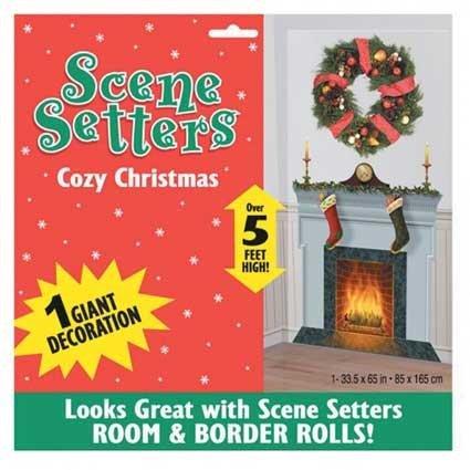 Cozy Christmas Scene Setter