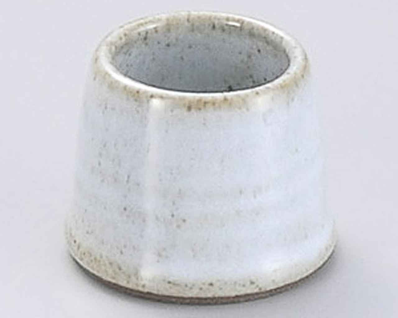 Haiyu 1.6inch Set of 5 Toothpick holders Grey Ceramic Made in Japan