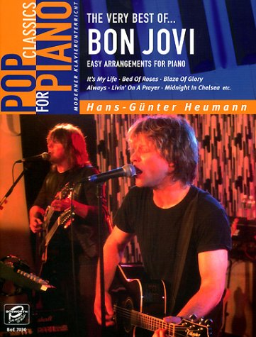 The very best of Bon Jovi. Easy Arrangements for Piano