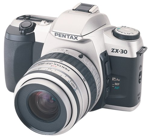 Pentax ZX-30 Quartz Date 35mm SLR Camera Kit with 35-80mm Le