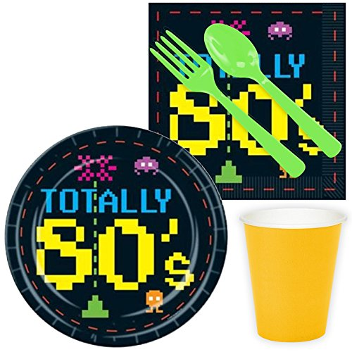 Costume Supercenter BBKIT306 Totally 80S Standard Kit -Serves 8 for $<!--$13.49-->