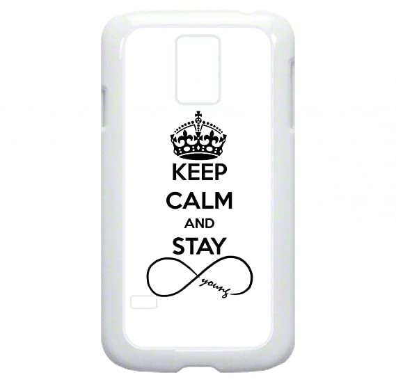 Amazon Keep Calm And Stay Forever Young Infinity Symbol