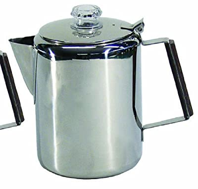 Chinook Canyon 9 Cup Aluminum Coffee Percolator by Chinook