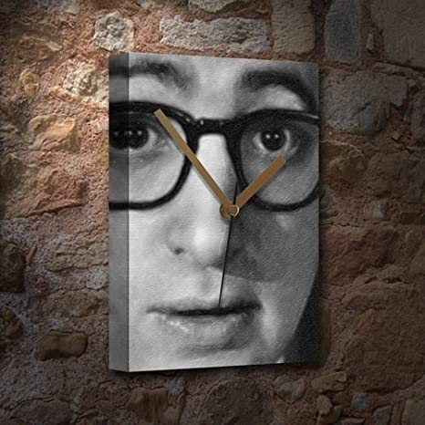 SEASONS WOODY ALLEN - Canvas Clock (A5 - Signed by the ...