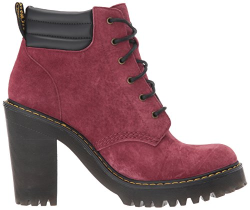 Martens Persephone 22756618 Dr Bottines Wine Soft Buck agOROvc