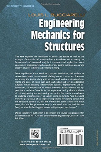 Engineering Mechanics for Structures (Dover Civil and Mechanical