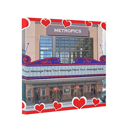 BUCKIE IY Canvas Picture Frames MY Personalize Movie Marquee