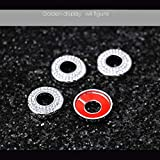 PGONE Bling Crystal Interior Decorations Compatible Molding Trim Caps for BMW Accessories Parts iDrive Multimedia Knob Covers Decals 3 5 7 Series X3 X5 F30 F10 G30 F01 G01 F15 G05 AWD Women