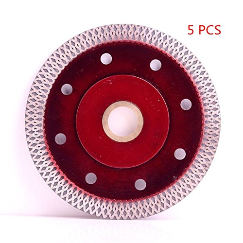 Iron Diamond Blade - Super Thin Diamond Ceramic Saw Blade Porcelain Cutting Blade for Cutting Ceramic Or Porcelain Tile (4