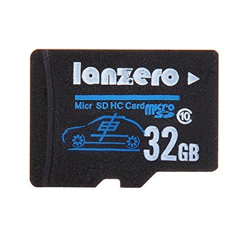 Lanzero 32GB Micro Sd Class10 TF Tachograph Memory Card for Xiaomi Yi EKEN H9 EKEN H8 sj5000x sj5000 plus K6000 sj4000 M20 Gitup 2 H8R H8 Pro Car DVR Action Camera by Live Shop