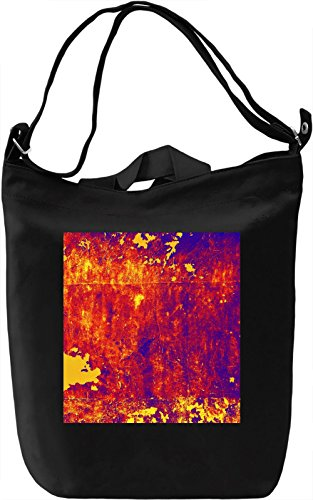 Colorful Wall Pattern Borsa Giornaliera Canvas Canvas Day Bag| 100% Premium Cotton Canvas| DTG Printing|