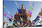 Rob Tilley Gallery-Wrapped Canvas entitled Parroquia De San Miguel Archangel, Day of the Dead, Guanajuato, Mexico