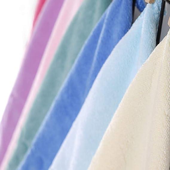 Babysbreath17 3pcs Color al Azar Limpiador de Micro Fibra Espesa la Toalla Suave Bol/Copa/Pot paño Limpio el baño Accesorios de Cocina Aleatorio 30 * 30cm: ...