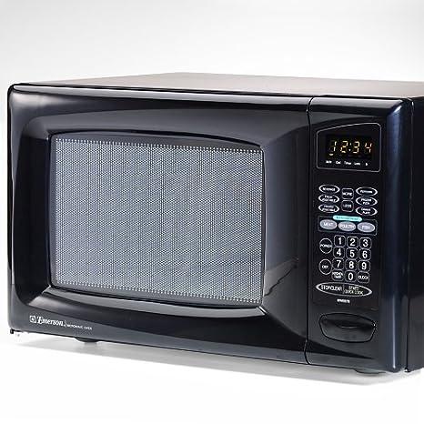 Amazon.com: Emerson mw8987b 0.9 Cu. Ft. 900 Watt Microondas ...