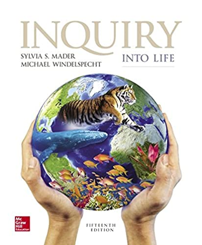 amazon com inquiry into life 9781259426162 sylvia s mader dr rh amazon com inquiry into life 15th edition lab manual answer key mader inquiry into life lab manual
