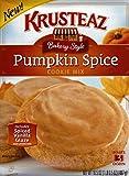 Krusteaz Bakery Style Pumpkin Spice Cookie Mix - (1) 16.5 oz Box - Includes Spiced Vanilla Glaze!