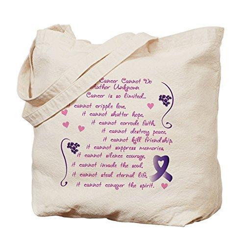 What Cancer Doできません。。。 – コットンキャンバスショッピングバッグ、トートバッグバッグDesigned by leiacikl22 B078W76N8B