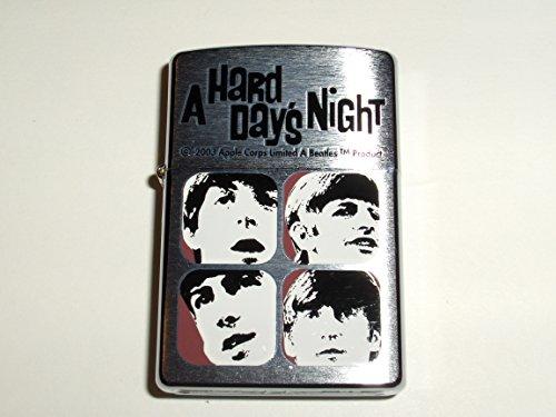 Zippo The Beatles A Hard Days Night Brushed Chrome Lighter