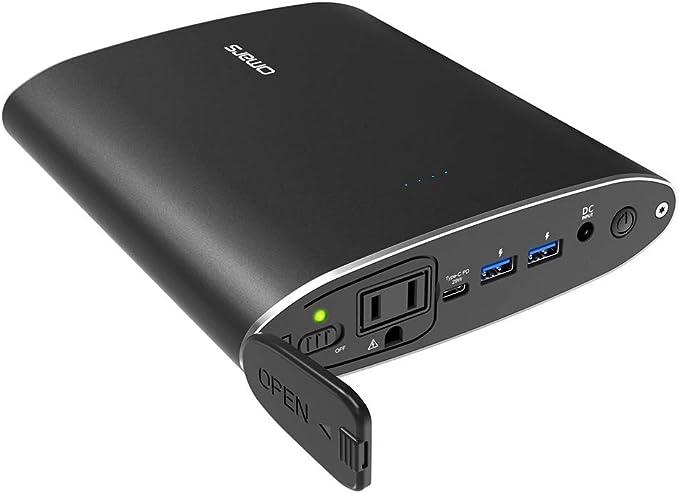 AC Power Bank Omars 26800mAh 90W AC Cargador de portátil con 29W ...
