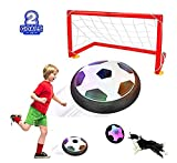 ANRAY Kids Toys Hover Soccer Ball Set with 2 Goals, Air Power Training Football, Best Gift for 2, 3,...