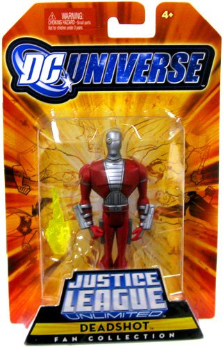 DC Universe Justice League Unlimited Fan Collection Action Figure Deadshot
