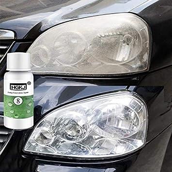 Moocevill 20ml Hgkj Auto Autozubehör Polieren Scheinwerfer Mittel Helle Weiße Scheinwerfer Reparatur Lampe Reinigung Fensterglasreiniger Sport Freizeit