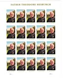 USPS 2017 Father Theodore Hesburgh Sheet of 20 Forever Postage Stamps Scott 5241
