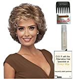 Fortune Wig by Gabor, 15 Page Christy's Wigs Q & A Booklet, 2oz Travel Size Wig Shampoo, Wig Cap & Wide Tooth Comb COLOR SELECTED: G16+