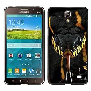"""For Samsung Galaxy Mega 2 Case , Veneno de Serpiente Venenosa Negro Amarillo"""" - Diseño Patrón Teléfono Caso Cubierta Case Bumper Duro Protección Case Cover Funda"""