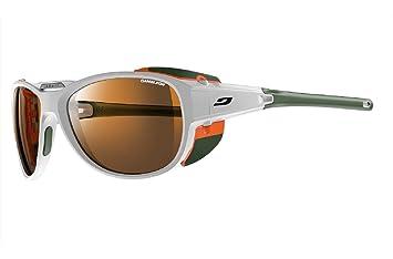 f666955bfe Julbo Explorer 2.0 Mountaineering Glacier Sunglasses - Camel - White Orange