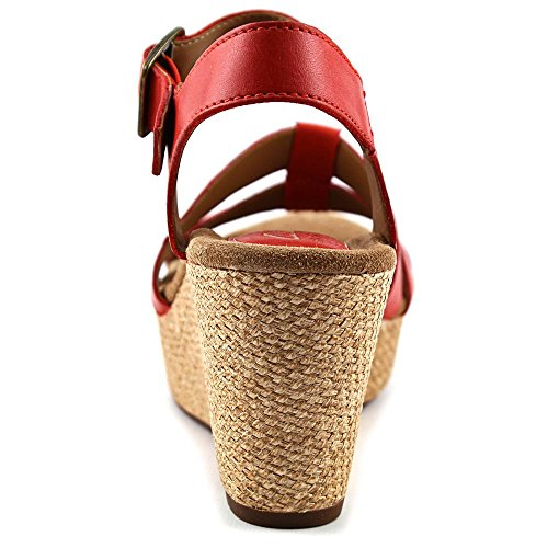 Clarks Leather Grenadine Arpa tiras Full Grain la sandalia de Caslynn de rrRwqvU