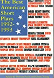 The Best American Short Plays 1992-1993, Howard Stein, 1557831661