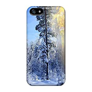 LJF phone case New Fall Winter Collide Tpu Skin Case Compatible With Iphone 5/5s