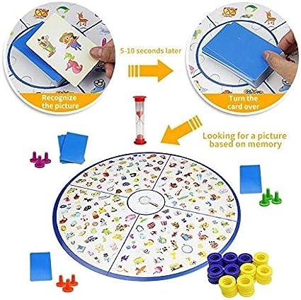 Juguete de Desarrollo de Bricolaje Puzzle Gráfico niños Detectives Looking Juego de Mesa de plástico Rompecabezas del Cerebro Education Training Kit Juego [ZRX]: Amazon.es: Electrónica