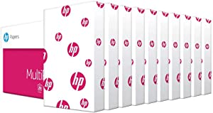 HP Paper Printer Paper legal paper MultiPurpose 20 lb 10 Ream Case 5000 Sheets 96 Bright Made in USA FSC Certified Copy Paper HP Compatible 001420C, White, 8.5x14