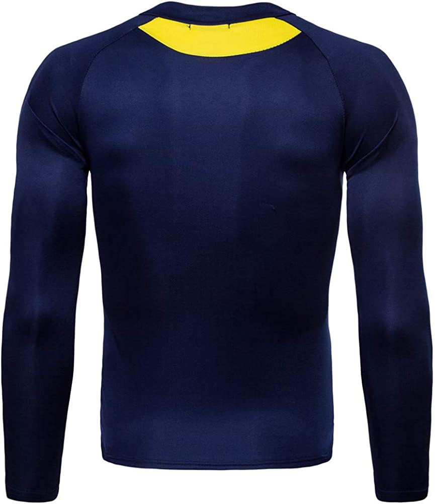 MEIbax Camiseta Blusa de Secado rápido Hombre Patchwork Faja Reductora Adelgazante Reductora Compresion Interior Manga Larga Fitness Gimnasio Aire Libre Ciclismo Ropa de Sauna Deportiva T Shirt: Amazon.es: Ropa y accesorios