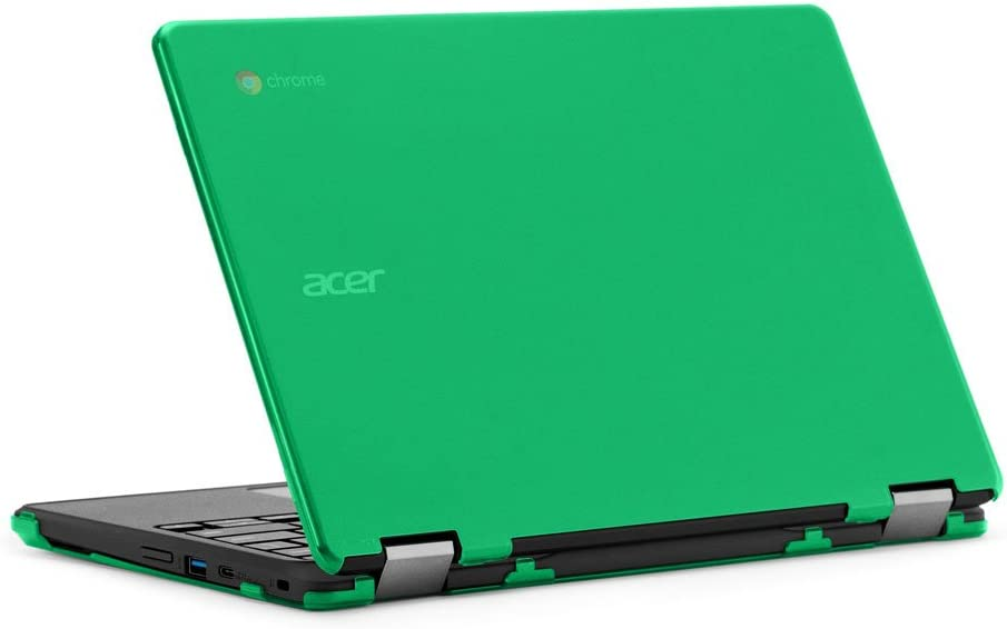 "mCover iPearl Hard Case for 11.6"" Acer Chromebook Spin 11 R751T CP311 CP511 Series (NOT Compatible with R11 CB5-132T / C738T, C720/C730/C740/CB3-111/CB3-131 Series) Convertible Laptop (Green)"