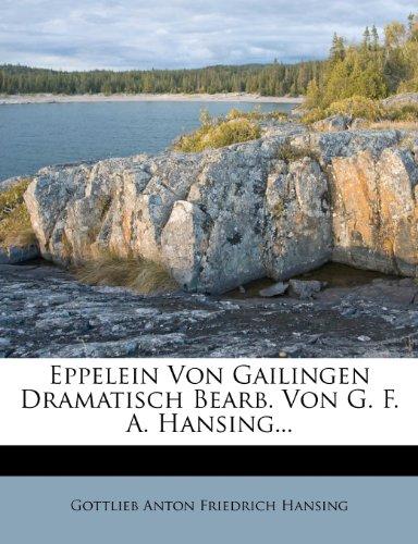 Eppelein von Gailingen.  (Tapa Blanda)