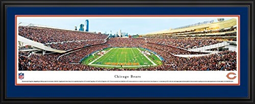 Chicago Bears - End Zone at Soldier Field - Panoramic Print