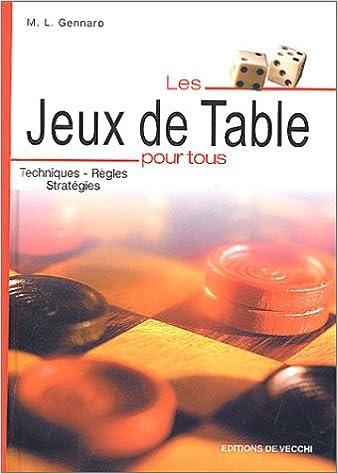 Livres gratuits Les jeux de table pour tous pdf