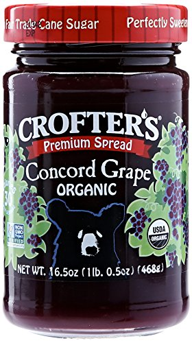 Crofters Organic Concord Grape Premium Spread, 16.5 oz (Organic Grape Jam compare prices)