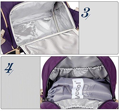 Hombro mochila, paquete de leche de leche de gran capacidad, paquete de hielo al aire libre de almacenamiento de leche, bolsa de mamá, paquete de maternidad ( Color : Rojo ) Rojo