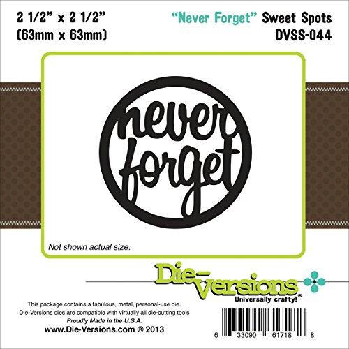 Die-Versions - Sweet Spots - The Good Old Days Scrapbooking Die Cuts