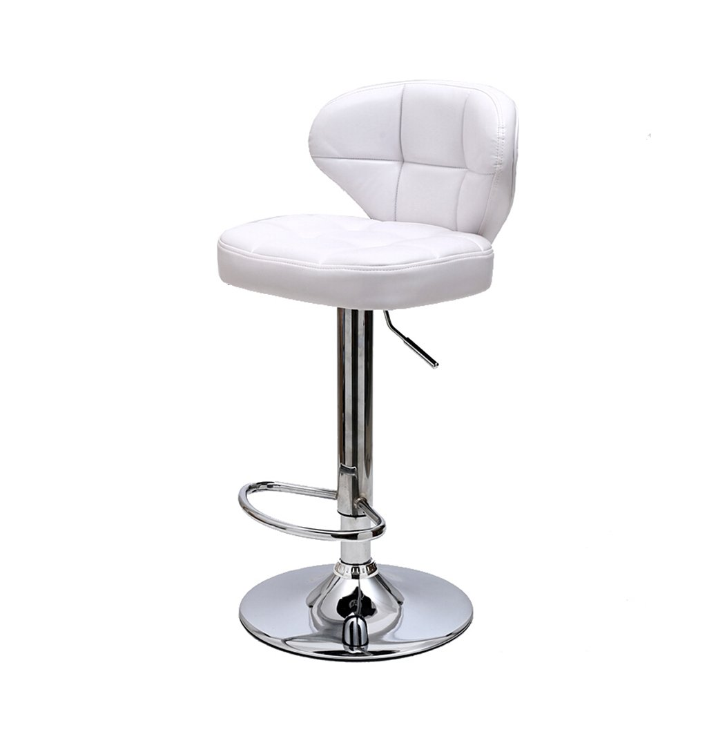 4 he yan Long Home Bar stools, Continental bar Chair High Chair Can Lift redating Chair Household Dining Chair Adjustable Height with armrests Stool (color    6)