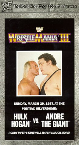 amazon co jp wrestlemania 3 vhs wwf ビデオ