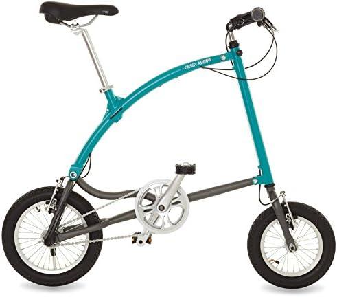 Ossby Arrow Bicicleta Plegable, Unisex Adulto, Turquesa, Talla ...