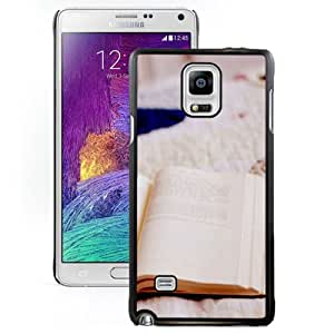 Beautiful Designed Case For Samsung Galaxy Note 4 N910A N910T N910P N910V N910R4 Phone Case With Opened Book Phone Case Cover